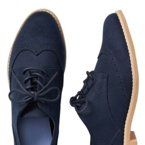 GAP Shoes | Gap Womens Navy Faux Suede
